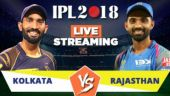 IPL Live Streaming KKR vs RR: Watch on Mobile, Hotstar, Jio TV