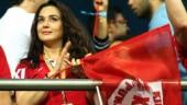 I am a big MS Dhoni fan, happy to see him shine: Preity Zinta