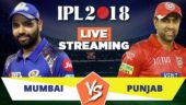 IPL Live Streaming MI vs KXIP: Watch on Mobile, Hotstar, Jio TV
