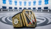 Manchester City's WWE belt