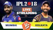 IPL Live Streaming MI vs KKR: Watch on Mobile, Hotstar, Jio TV