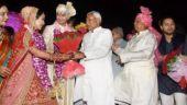 Nitish attends Lalu's son Tej Pratap and Aishwarya Rai's wedding, blesses newly wed