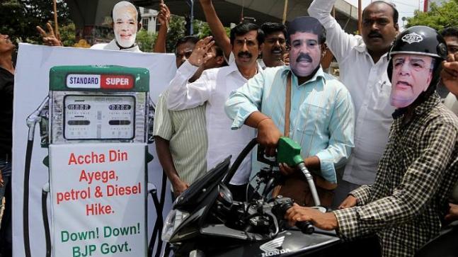 Rising petrol diesel prices