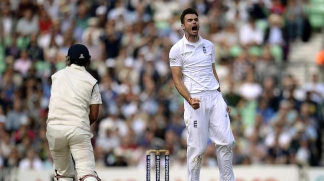 James Anderson had picked up 25 wickets during India's tour of England in 2014 (Reuters Photo)
