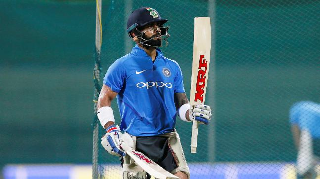 Virat Kohli is currently recovering from a neck injury (Reuters Photo)