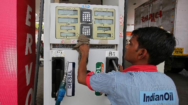 Fuel prices touch all-time high