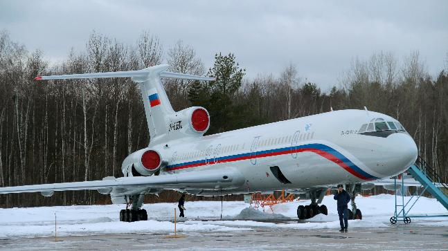 A variant of Russia made Tupolev TU 154 that was used by China to monitor IAF's air exercise Gagan Shakti. (Photo: Reuters file photo)