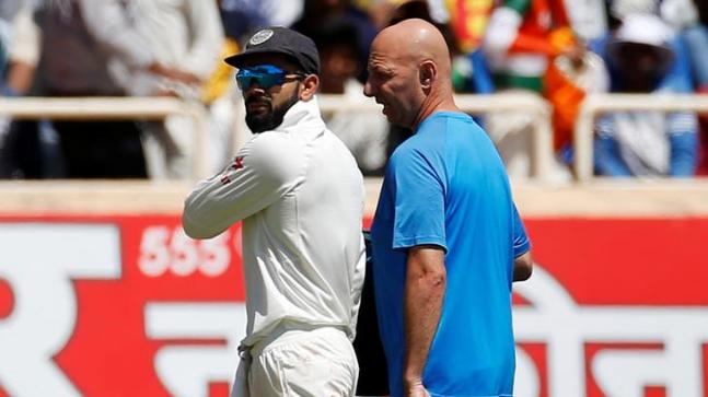 Virat Kohli was ruled out of his maiden county stint where he was scheduled to play three four-day games (Reuters Photo)