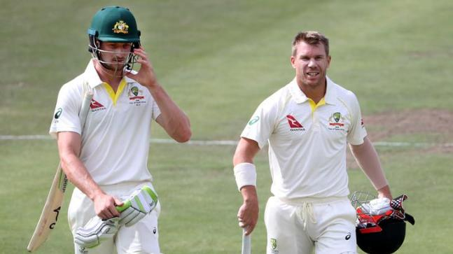 David Warner and Cameron Bancroft are serving Cricket Australia bans for their involvement in the ball-tampering scandal (Reuters Photo)