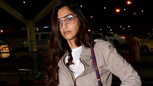 Sonam Kapoor leaves for Cannes Film Festival