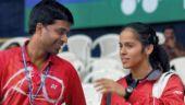 Saina Nehwal and Pullela Gopichand (Photo: PTI)