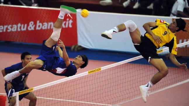 Sepak takraw (kick volleyball)