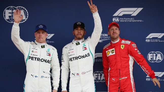 Hamilton wins in Spain to go 17 points clear