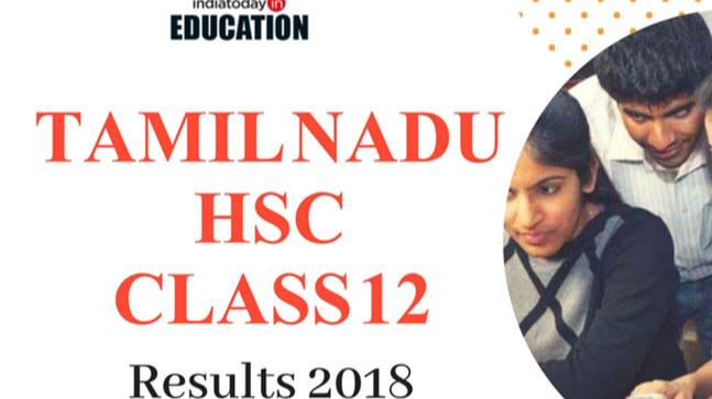 TN HSC +2 Class 12th Result 2018