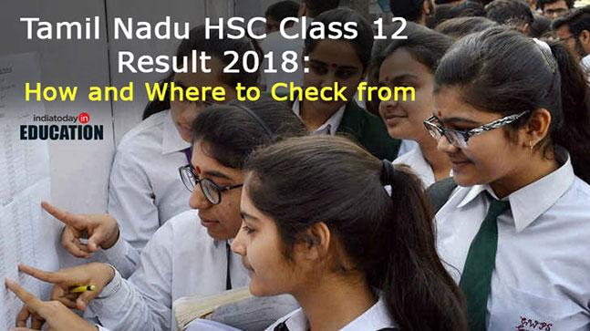 Tamil Nadu TN HSC +2 Results 2018 declared at tnresults class=