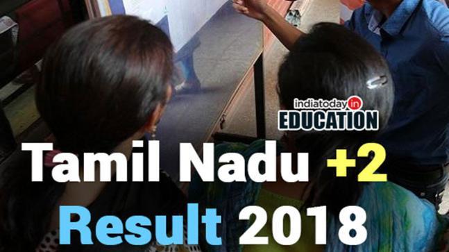 Tamil Nadu +2 Result 2018