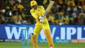 MS Dhoni, cheered on by wife Sakshi, blasts his second fastest IPL half-century