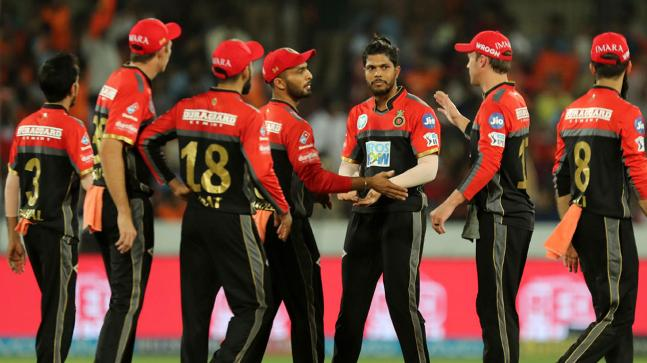 Royal Challengers Bangalore vs Sunrisers Hyderabad