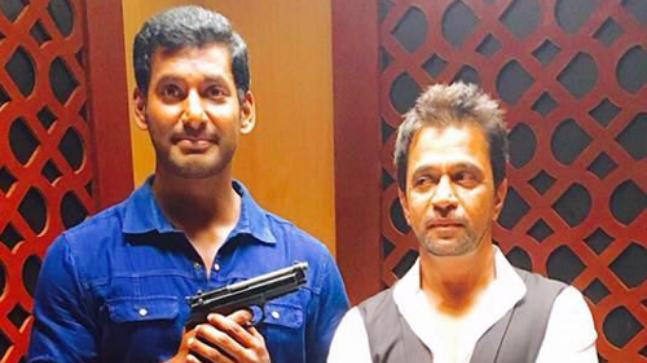 Kasi theatre cancels two shows of Vishal's Irumbu Thirai following protests