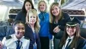 All-black female flight crew on Alaska airlines make history