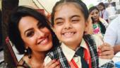 Anita Hassanandani's on-screen daughter Ruhanika can't wait to see her as Naagin