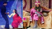 TV newsmakers: Ravi Dubey nails Ranveer's Khilji look; Shilpa Shinde and Sunil Grover's rain dance goes viral