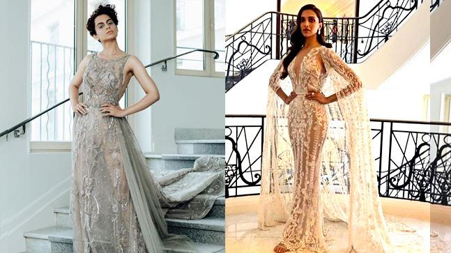 Kangana Ranaut and Deepika Padukone look ready to set the red carpet of Cannes 2018 on fire.