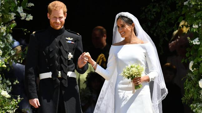 Royal Wedding Harry Meghan Made Princess Diana S Presence Felt At