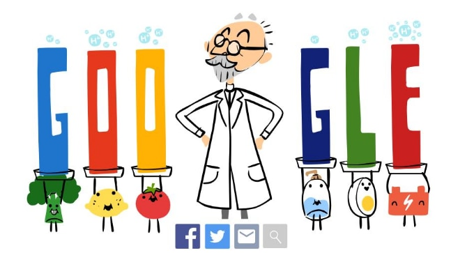 Google Doodle game dedicated to SPL Sørensen