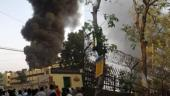 Massive fire breaks out in South Delhi, 20 fire tenders on spot