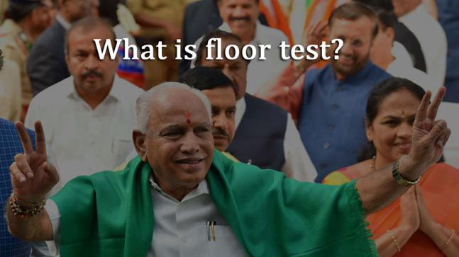 Amid political chaos in Karnataka, let's learn what floor test is.
