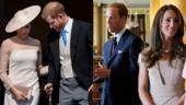 Harry-Meghan high on PDA at first Royal outing but why were William and Kate not?