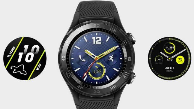 Huawei Watch 2 (2018) running wear OS - specs and renders leaked
