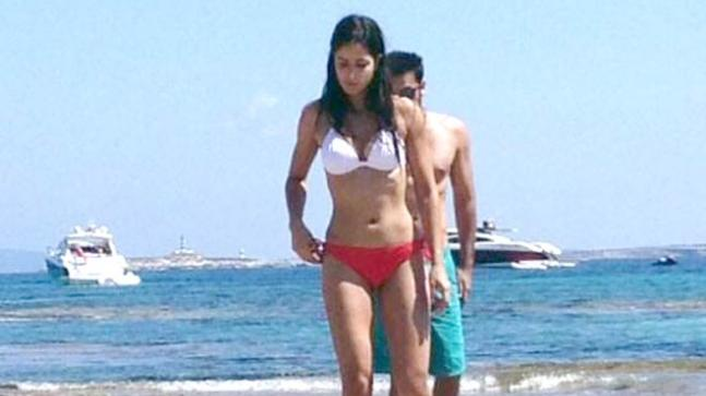Katrina Kaif and Ranbir Kapoor were spotted together in Ibiza back in 2013.