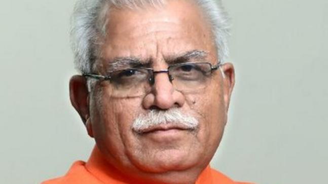 Haryana CM M L Khattar