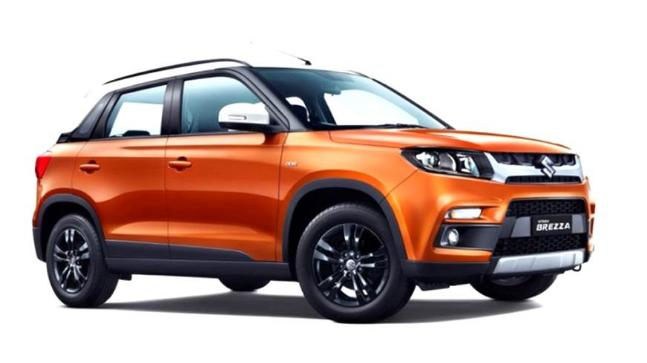 Maruti Suzuki launches facelifted Vitara Brezza and AMT variant
