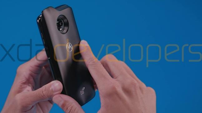 Alleged Moto Z3 Play and 5G Moto Mod pictures leaked