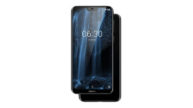 ed811eb69 HMD Global on Wednesday finally unveiled the Nokia X6 as the first phone in  the X Series in China. The mid-range phone comes with a brand new design ...