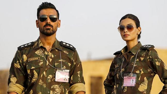 John Abraham and Diana Penty in a still from Parmanu