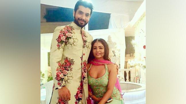 Ssharad Malhotra and Pooja Bisht