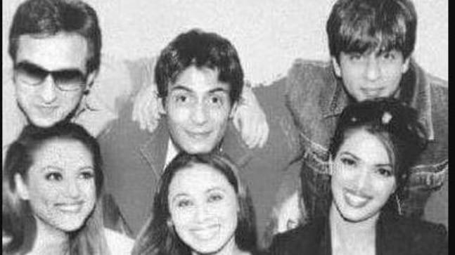 Saif Ali Khan, Arjun Rampal, Shah Rukh Khan, Preity Zinta, Rani Mukerji and Priyanka Chopra