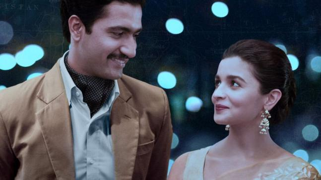 Raazi Movie Review: Vicky Kaushal and Alia Bhatt in a still from the film