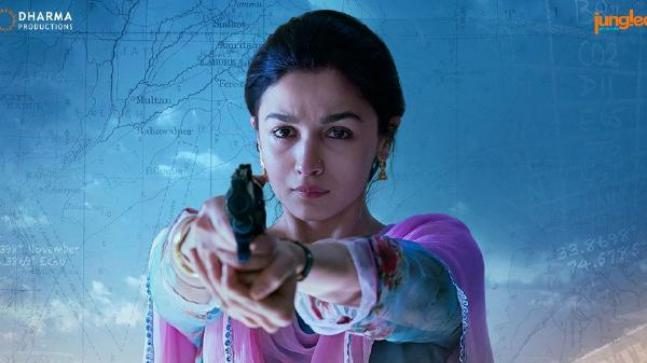 Raazi Movie Review: Alia Bhatt in a still from the film
