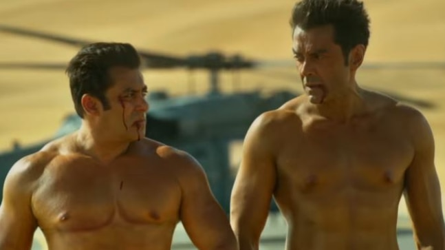 Salman Khan and Bobby Deol in Remo D'Souza's Race 3