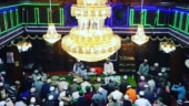 People gathered on the occasion of Shab-e-Baraat