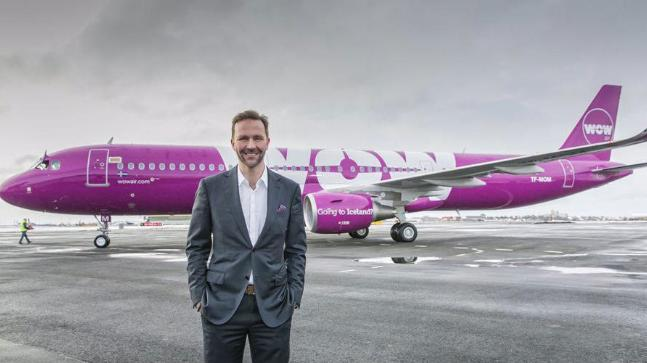 Skuli Mogensen is bringing WoW Air to India this December. Photo: Twitter/Skuli Mogensen