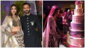 Sonam Kapoor and Anand Ahuja at their reception