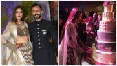 WATCH: At Sonam Kapoor-Anand Ahuja reception, newlyweds cut wedding cake