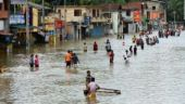 Flash flood in Sri Lanka