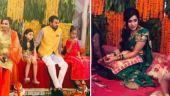Tej Pratap and Aishwarya Rai turn Shiv-Parvati on wedding day. Watch video